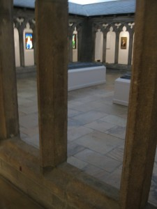 A view of the Cloister on the first floor of the museum.  It's a medieval French cloister that's reconstructed in the museum.