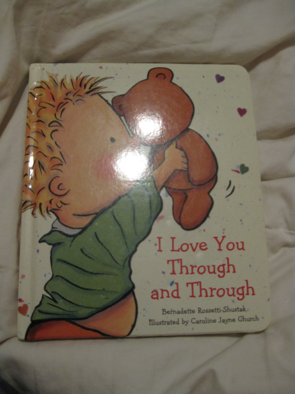 The front cover of I Love You Through and Through
