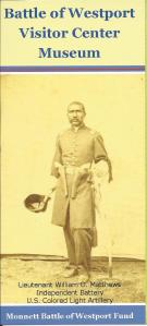 Front of the flyer for the museum, featuring a Union soldier.