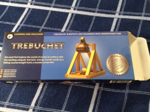 Peanut's trebuchet kit . . . designed for ages 9 and up!