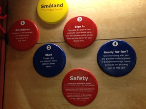 Smaland's rules and regulations