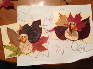Our finished turkeys.
