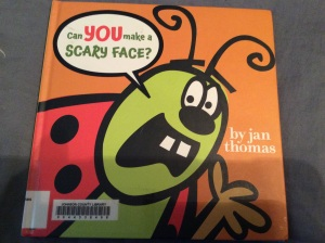 The cover of Can You Make a Scary Face?