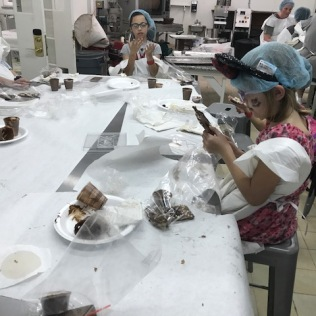 Sprout makes chocolate at Graycliff.